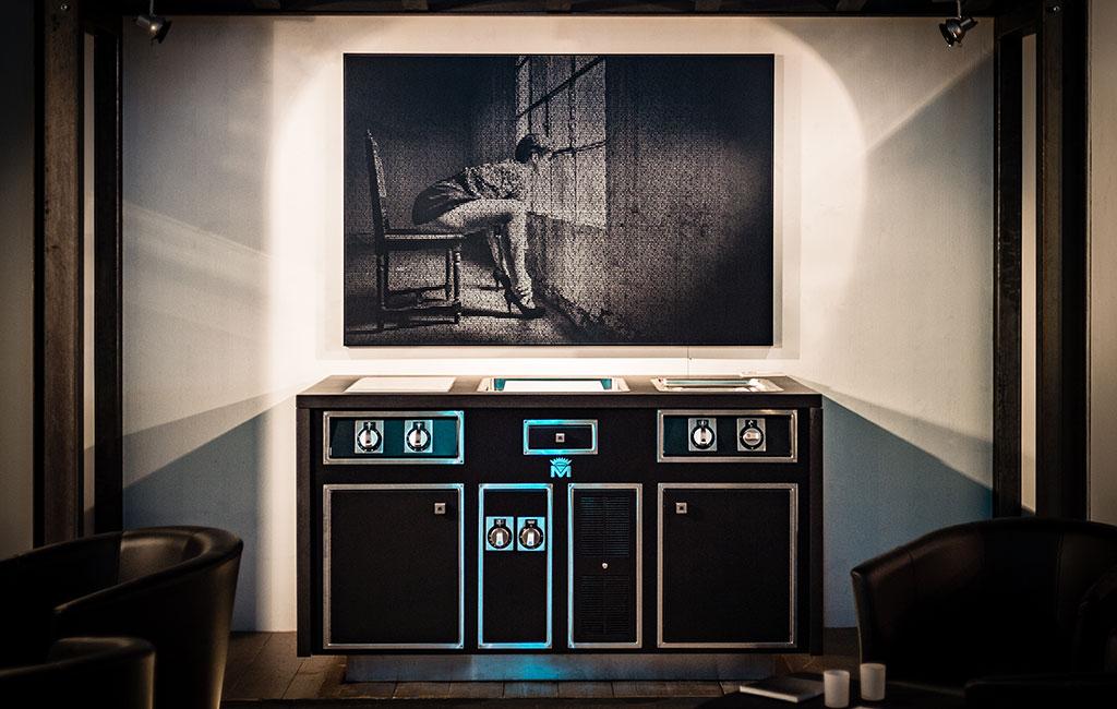 Molteni Caractère, Präsentation in Deutschland durch Manufaktur Hunger zur Messe room+style 2018 mit Vito von Gaudlitz und Mirko Joerg Kellner